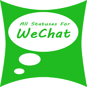 All statuses for WeChat icon