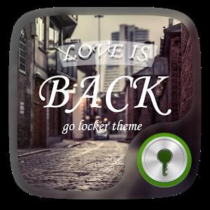 Love is back GO Locker Theme icon