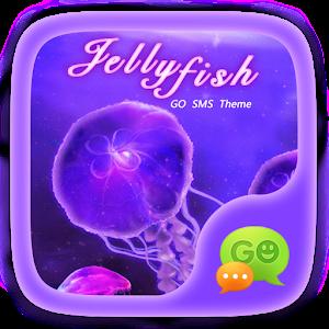 (FREE) GO SMS JELLYFISH THEME icon