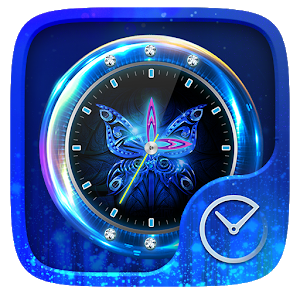 Butterfly GO Clock Theme icon
