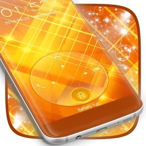 Gold Lock Screen icon