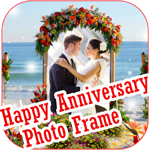 Anniversary Photo Frame Maker icon
