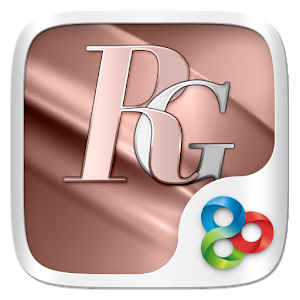 Rosegold GO Launcher Theme - AppRecs