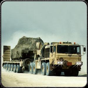 Desert Army Cargo Supply Truck icon
