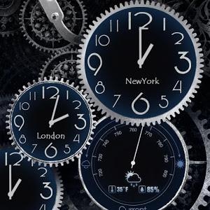 Black Clock Live Wallpaper Hd Apprecs