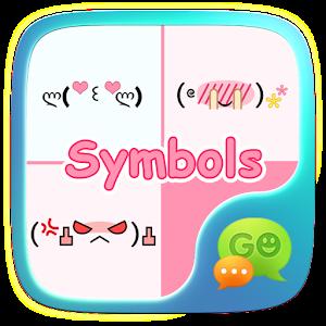 (FREE) GO SMS SYMBOL STICKER icon