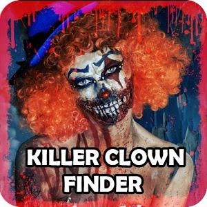 killer clown finder icon