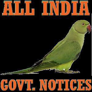 GOVT NOTICES - SSC, UPSC, IBPS icon