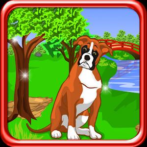 Boxer Dog Escape Game icon
