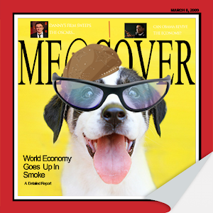 MeeCover : Magazine Cover Makr icon