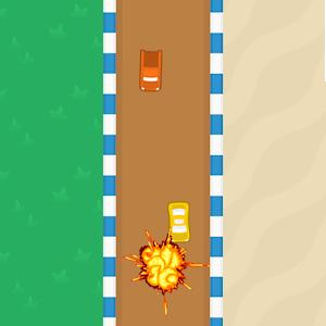 Racing Wrong Way - Car Race icon