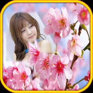 Sakura Flower Photo Frames icon