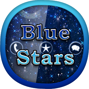 Blue Stars for GO Locker icon