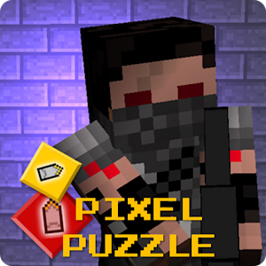 Pixel Puzzle - Gun Survival icon