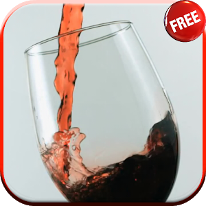 Glass of Wine Live Wallpaper icon