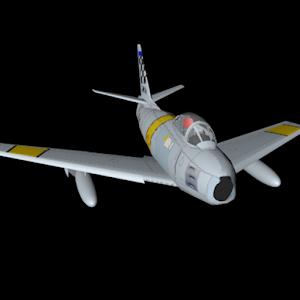 Flight Simulator F86 icon