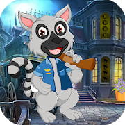 Best Game 420- Funny Cartoon Racoon Escape Game icon