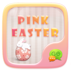 (FREE)GO SMS PINK EASTER THEME icon