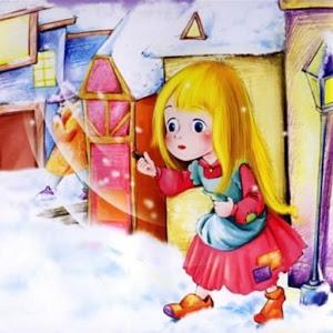 賣火柴的小女孩 童話故事有聲書 icon
