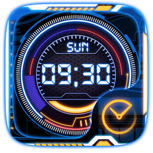 Technology Go Clock Theme icon
