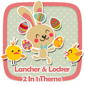 Happy Easter 2 In 1 Theme icon