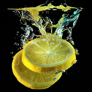 Lemon juice live wallpapers icon