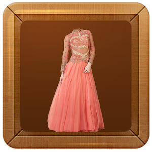 Women Gown Dress Photo Maker icon
