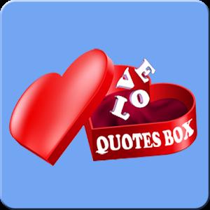 Love Quotes Box icon