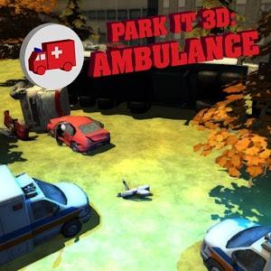 Park it 3d Ambulance icon