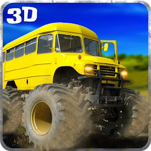 Big Bus Driver Hill Climb 3D icon