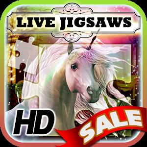 Live Jigsaws - Unicorns icon