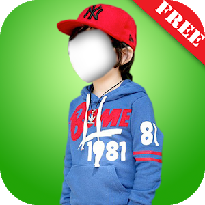 Kid Boy Fashion Photo Montage icon