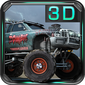 Zombie 3D Truck Parking icon