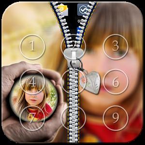 PIP Zipper Lock Screen icon