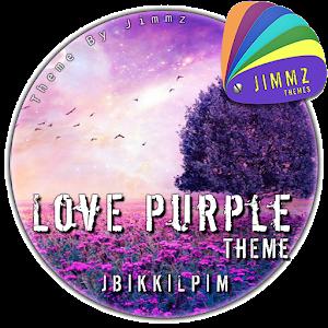 eXperiaz Theme - Love Purple icon