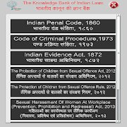 Laws in Hindi and English icon