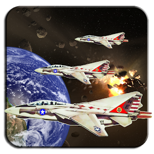 Space Fighter Aircraft icon