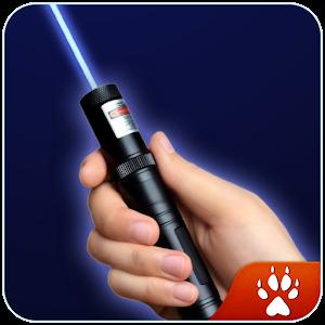 Simulator laser animation icon