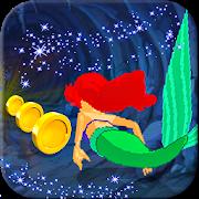 Adventure Little Princess Ariel Run - Mermaid Run icon