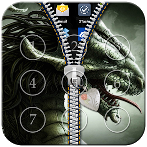 Dragon Zipper Lock icon