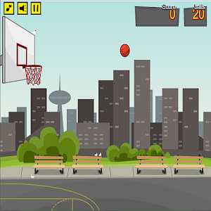 basketball outdoor icon
