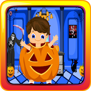 Pumpkin Boy Halloween Escape icon
