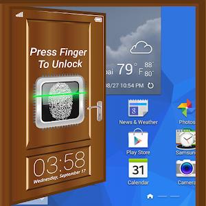Fingerprint-Lock Screen Prank icon