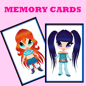 Fairy Girls Memory Cards icon