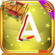 Alphabet ABC Kids Pro : Letters Writing Games icon