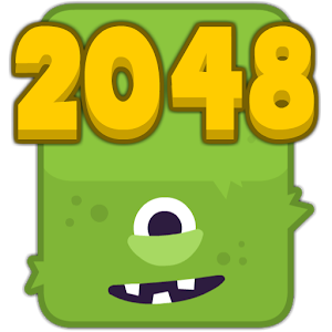 2048 Fuzzy Monsters icon