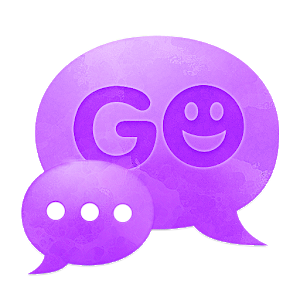 Purple Violet GO Theme SMS icon