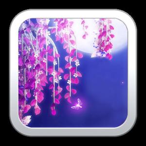 Moonlight sakura LiveWallpaper icon