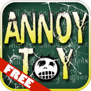 FREE Annoy Toy Chalkboard App icon