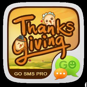 (FREE)THANKS GO SMS THEME icon